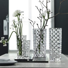 Manufacturers Wholesale All Kinds of Crystal Clear Glass Vases with Different Specifications