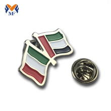 Custom metal art national flag badge lapel pins