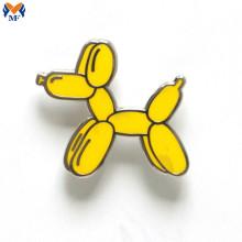 Broche de chien de ballon d'émail de conception personnalisée en métal
