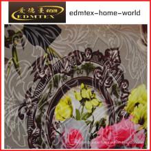 Knitting Fleece Printing Fabric for Curtain