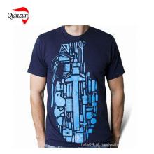 T-shirt da impressão dos homens