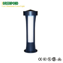 Premium Glass Cover Cast Aluminum Lawn Lamp