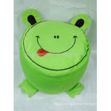 Hot sale environmental PVC liner animal plush Inflatable stools