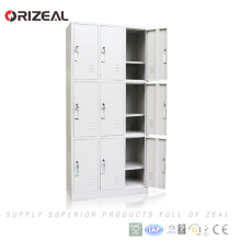 Hot sale school metal locker storage cabinet for wholesale
