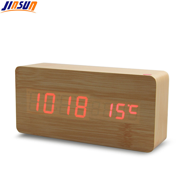 Wood Led Clock 104 5