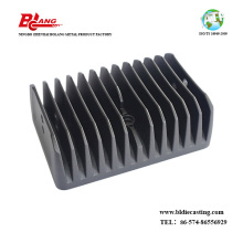 Custom made aluminium kalis air 200w automotif membawa heatsink