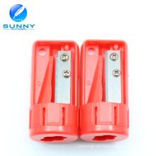 Fabrik Customized Jumbo Carpenter Kunststoff Bleistiftspitzer für Förderung