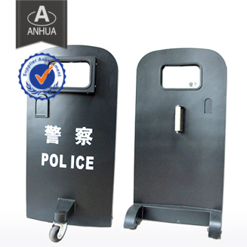 Professional Military Police Bulletproof Shield with Wheels