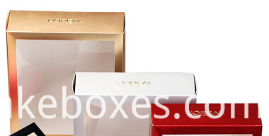 Cailang Printing Card Box with Clear Picture and gold hot stamping logo