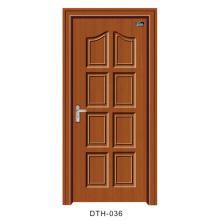 Puerta de madera de PVC (DTH-036)