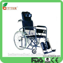 reclining High backrest wheelchair with FDA,ISO13485,CE,FCS approved