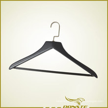 Plastic Black Matte Clothing Hanger