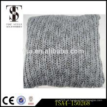 Linho e acrílico atacado decorativas travesseiro cobre blush almofada com fio de metal Quality Choice