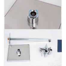 WRAS латунный скрытый клапан с душем, 8-дюймовый душ