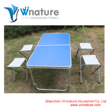 Aluminum table and chair camping table garden table