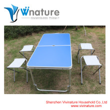 Алюминиевые Таблица и стул кемпинговый стол сад стол