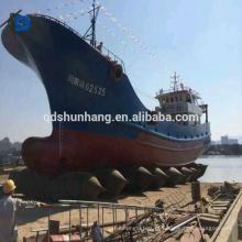 Bolsa a ar de lançamento do navio de borracha pneumático do certificado da BV para a venda