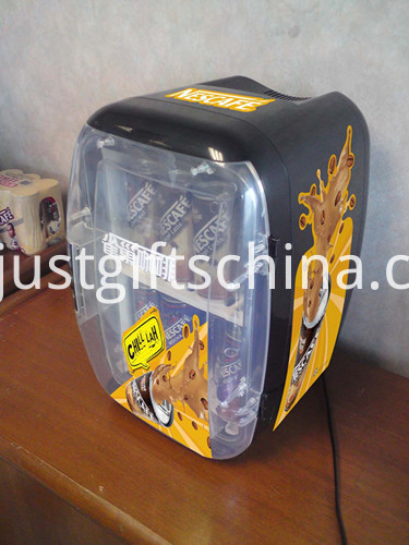 Promotional Mini Fridge With Translucent Door