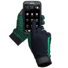 Anti-Rutsch-Silikon-Punkt Breathable Touch Screen Handschuhe