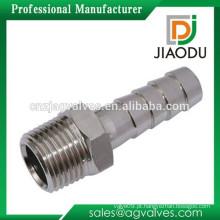 Zhejiang fabricante alta qualidade e baixo preço macho rosca niquelado bronze mangueira de ar montagem para ar