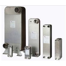 Échangeur de chaleur à plaques brasées compact 304/316 eau-eau