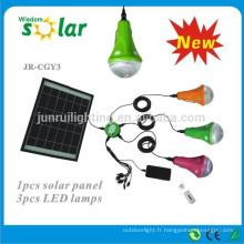 LED solaire camping éclairage, solaire camping lumière, lumière solaire (JR-SL988)
