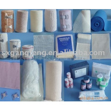 Rouleaux de bandage élastique médical