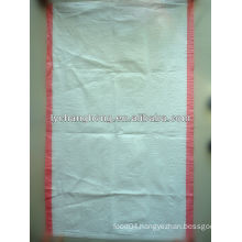 factory supply plastic bag with color stripe