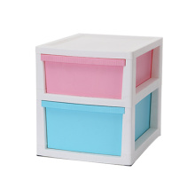 Plastic Two Layer Underwear Socks Storage Drawer Cabinet
