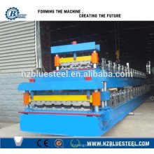 Portable Metal Roofing Roll Forming Machine, Double Layer Roof Roller Former For Sale