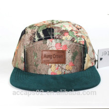 Chapeau snapback personnalisé 100% coton