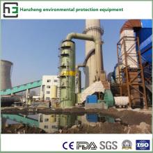 Operação de dessulfuração e desnitrificação - colector de pó de adsorção química