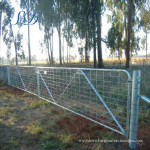 Galvanized Cattle Panel Farm Fence Stay Gate