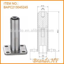 Válvula solenoide de refrigeración de HVAC como un conjunto de tubo de émbolo en válvula