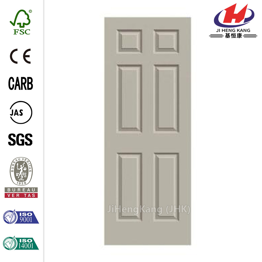 Solid Wood Frame Plywood Interior Cabenit Door