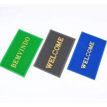Tapis d'entrée de bienvenue en PVC avec logo de tapis