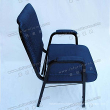 Church Chair with Back Cushion and Armrest (YC-G38-14)