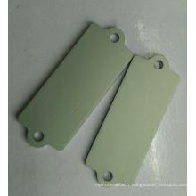 Haute qualité emboutissant la feuille de métal de pièces avec le film protecteur