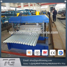 All automatic corrugated metal roof tile roll forming machine price made in China