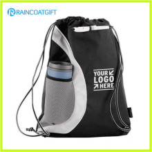 Promotional Nylon Drawstring Bag/Drawstring Backpack with Reinforced PU Corners RGB-029