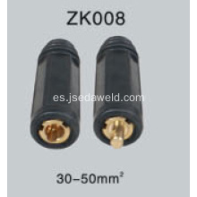Enchufe de cable y conector tipo británico 30-50mm²
