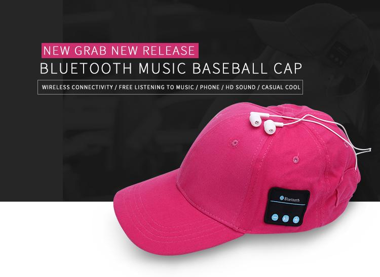 Bluetooth Earphone Hat