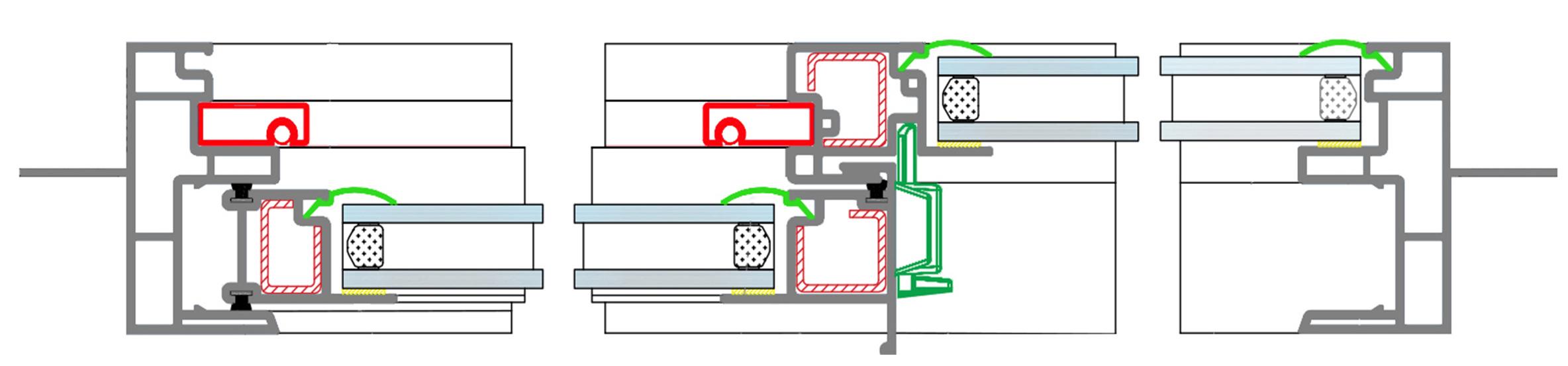 Lumei Americano Linea PVC -3