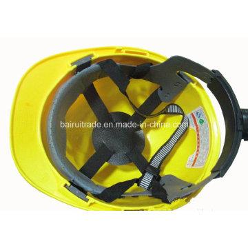 ABS / PE Komfort Schutzhelm Einstellbare Msa Schutzhelm für den Export