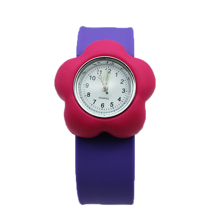 Silicone Kid Slap Watches