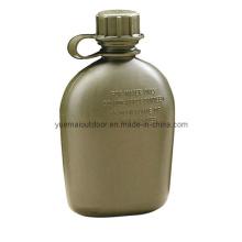 Botella de agua militar con HDPE de alta calidad