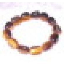 Semi Precious Stone Crystal Gemstone Tiger Eye Bead Charming Bracelet Jewelry