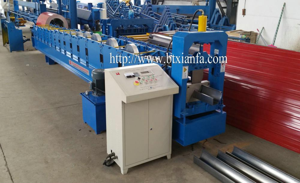 Widely Used Steel Roof Rain Gutter Making Machine
