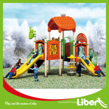 Hot Selling Plastic Outdoor playground Recreation equipment for Children Care Center Early Child Series LE-MN003