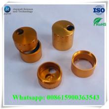 Custom Anodizing Gold Plate Chrom Plate Liga de alumínio Parte